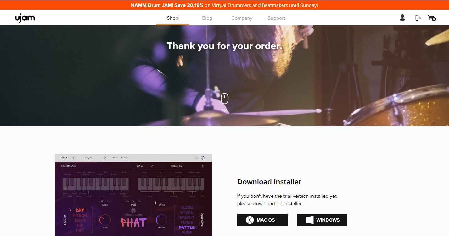 New - Installing the UJAM - Virtual Drummer - PHAT Plug-in
