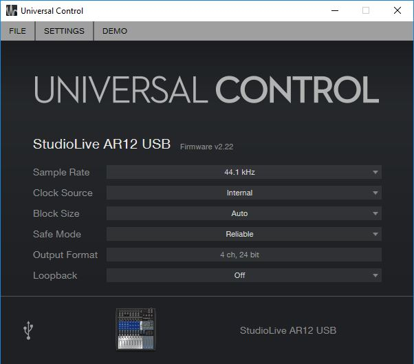 Setting up your StudioLive AR series mixer with your