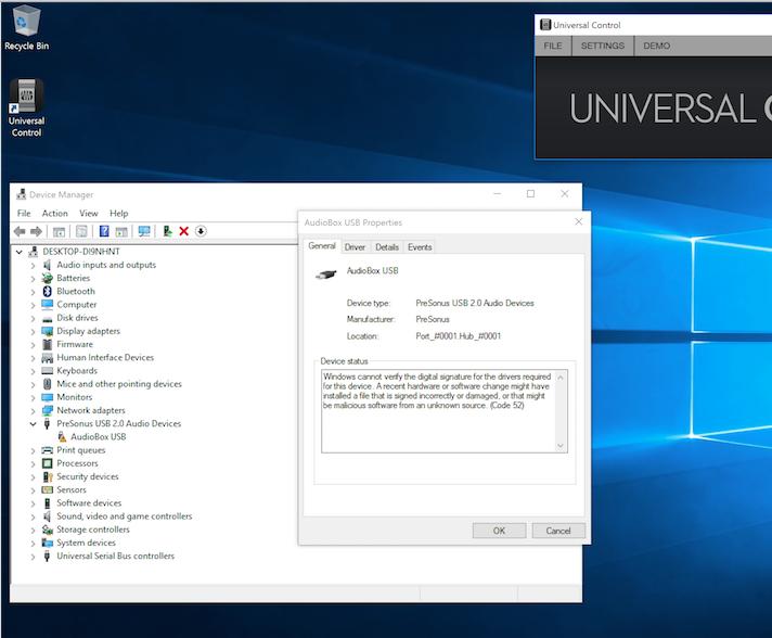 Windows 10 - Digital Signature - Code 52 Error – Knowledge